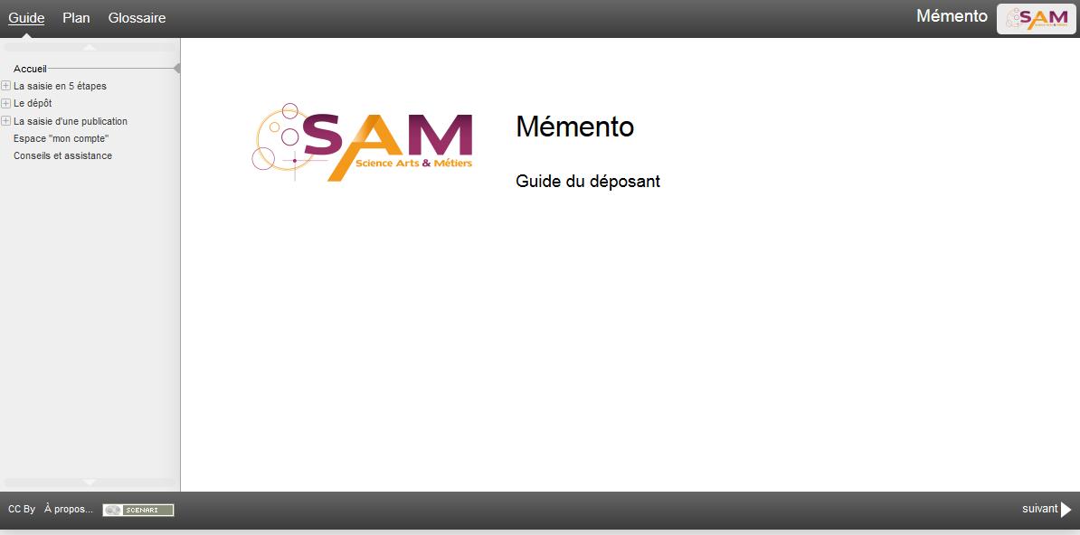 premiere page Memento